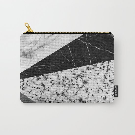 Marble and Granite Abstract Carry-All Pouch