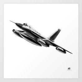 Convair B-58 Hustler Art Print