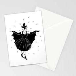 Bat girl is not bad Stationery Cards