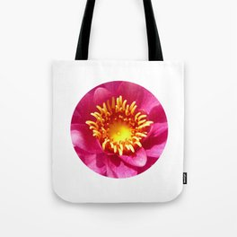 water lily macro Tote Bag