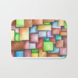 Blocky Bath Mat