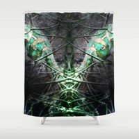 lizard Shower Curtains featuring LIZARD by ED design for fun