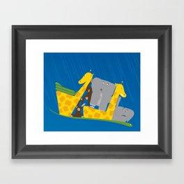 Noah's Ark Framed Art Print