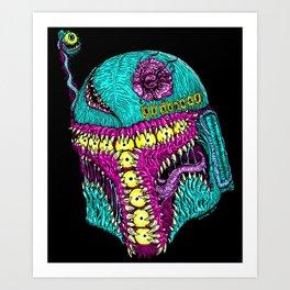 Monster Hunter Art Print