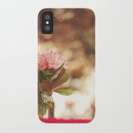 Under a bokeh sky iPhone Case