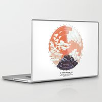 camp Laptop & iPad Skins featuring Base Camp by mattdunne