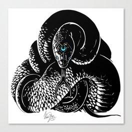 Snake Meditation Canvas Print