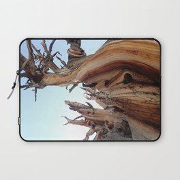 Trees twisting in the wind Laptop Sleeve