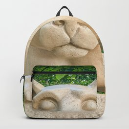Nittany Lion Statue Pennsylvania Backpack