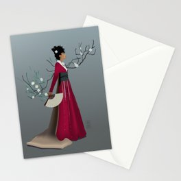 Red Kimono Stationery Cards