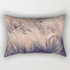 Golden Grass Rectangular Pillow