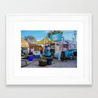 trailer park boys Framed Art Prints featuring Austin Trailer Park by Chee Sim
