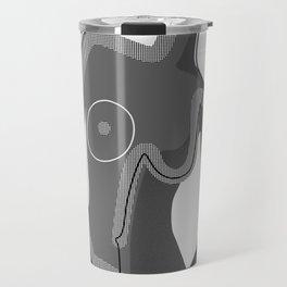 Abstract Nudity Travel Mug