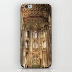 Peterborough Cathedral  iPhone & iPod Skin