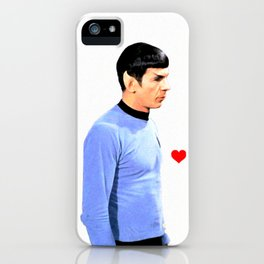 Spock Space Husbands Print iPhone Case