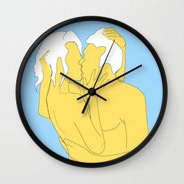 oh oui je t'aime Wall Clock