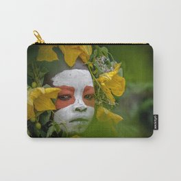 Suri Green Carry-All Pouch