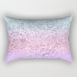Unicorn Girls Glitter #4 #shiny #pastel #decor #art #society6 Rectangular Pillow
