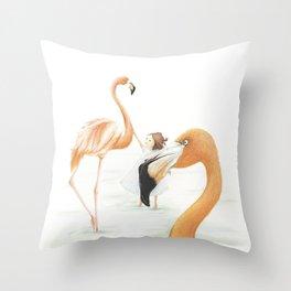 Trust Touch Throw Pillow