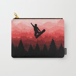 Snowboard Skyline I Carry-All Pouch