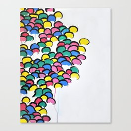 Skittle People Canvas Print