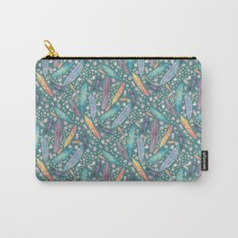 Gypsy Dreams on Teal Carry-All Pouch