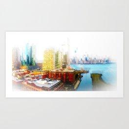Outside The City Art Print