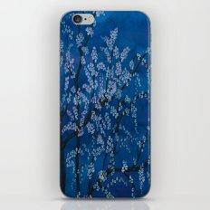 Spring Night Blues II iPhone & iPod Skin