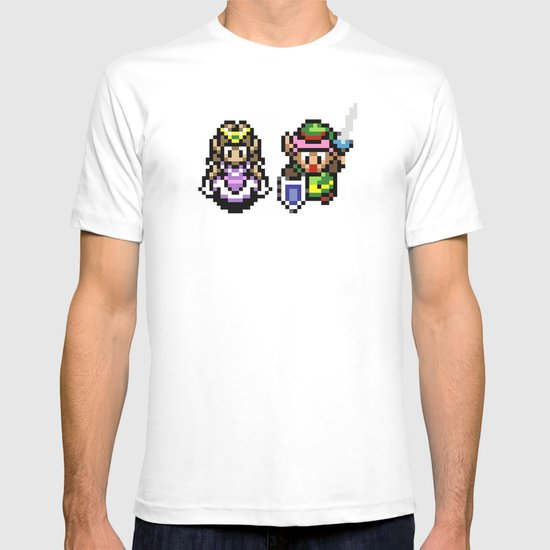 Zelda and Link T-shirt