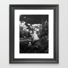 Her Wedding Day Framed Art Print