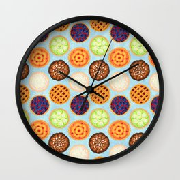 Sugar, Butter, Flour Wall Clock