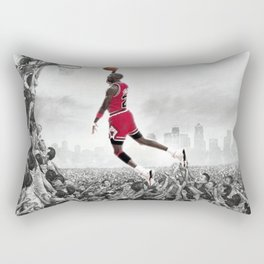 BALLING LIKE JORDAN Rectangular Pillow