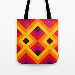 Retro Pattern 16 Tote Bag