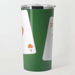 poker of glances Travel Mug
