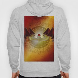 Egyptian sign, the scarab Hoody