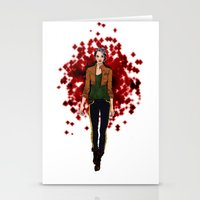 rogue Stationery Cards featuring Rogue by DiegoC