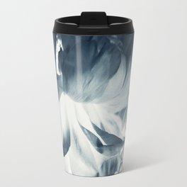 Blue Paeonia #2 Travel Mug