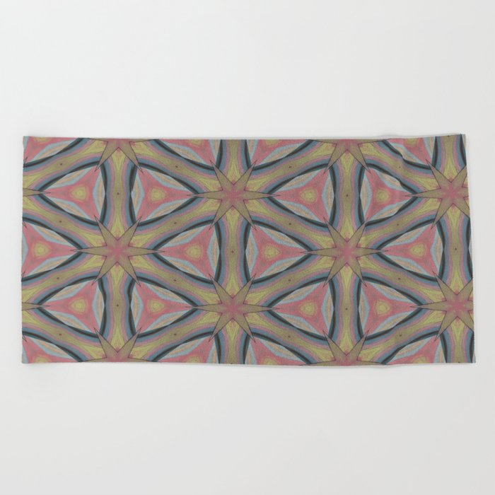 Ann Arbor Pastel Chalk 6235 Beach Towel