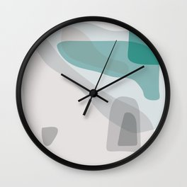 Abstract Early Morning Ocean Landscape Wall Clock