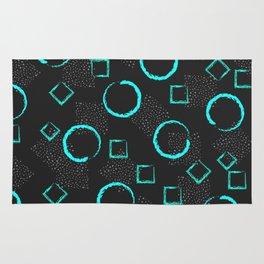 Circles & Squares Shapes Rug