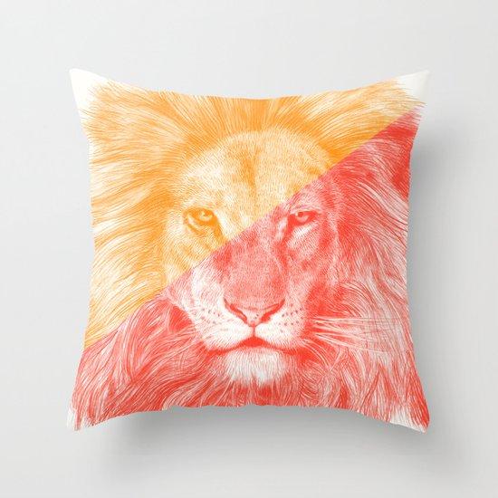 Wild 3 by Eric Fan & Garima Dhawan Throw Pillow