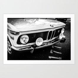 2002 black and white Art Print