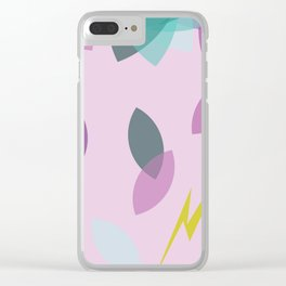 Chaotic Kitten Clear iPhone Case