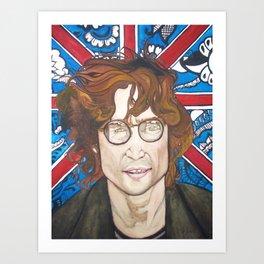 Lennon and India Art Print