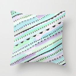 Candyshop Throw Pillow