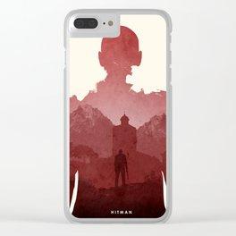 Hitman Clear iPhone Case
