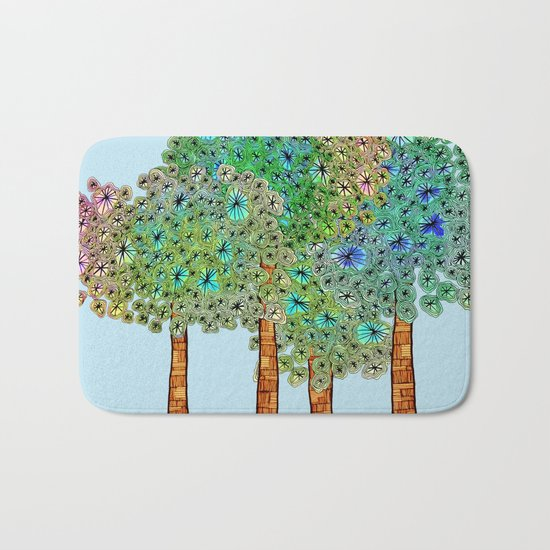 Tree Grove Bath Mat
