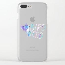 Bird Native Bird Songbird Nerd Gift Clear iPhone Case