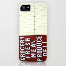 The Basics iPhone Case