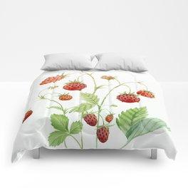 Wild Strawberries Comforters